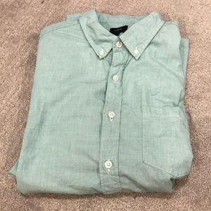 J crew button down shirt men's L